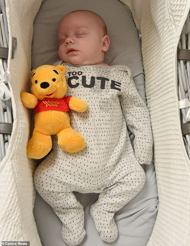 Little Leo James was born early, but is now thriving according to his mother