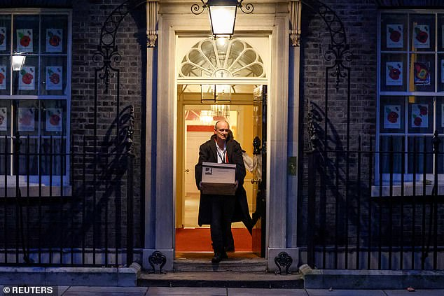 Opponents of the Prime Minister's former right-hand man say that MI5 has examined records of WhatsApp messages sent from the Cabinet room in No10 after a meeting to discuss whether to bring in a new lockdown.