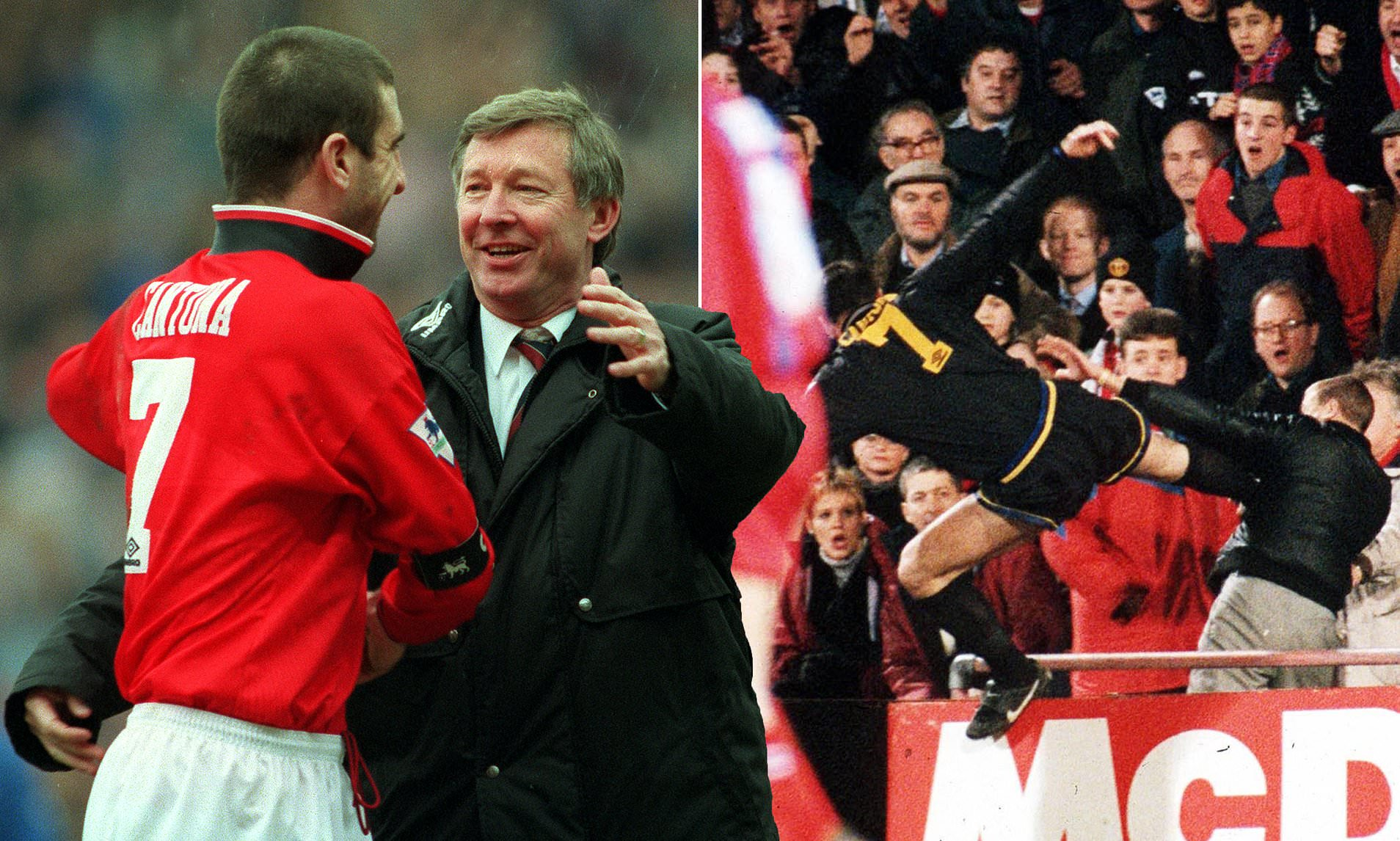 I didn't hit the palace fan strong enough. Eric Cantona Reveals He Wished He Kicked Crystal Palace Fan Matthew Simmonds Even Harder Daily Mail Online