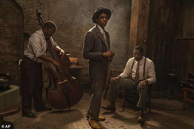 Final project: Chadwick Boseman is a favorite for best actor for Ma Rainey's Black Bottom, which would make him only the third actor to win posthumously