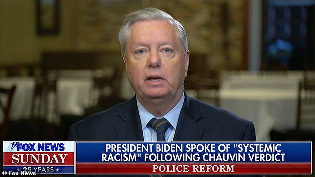 Lindsey Graham told Fox News Sunday that he did not believe systemic racism existed in America