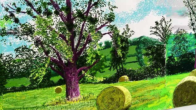 A show at the Royal Academy of Arts in London will capture the season with 116 of Hockney's iPad prints