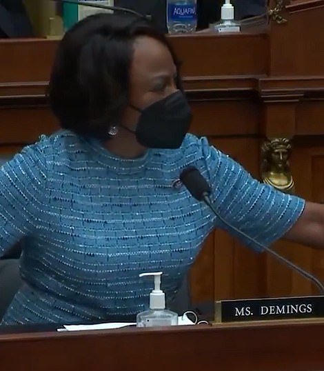 Democrat Val Demings told Jordan, who attempted to interrupt her, 'You don't know what the heck you're talking about'