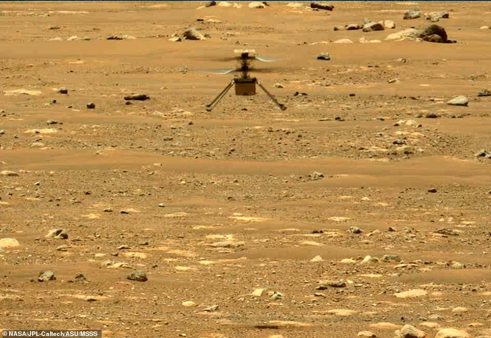 NASA's Mars Perseverance rover acquired this image using its left Mastcam-Z camera. Mastcam-Z is a pair of cameras located high on the rover's mast. This is one still frame from a sequence captured by the camera while taking video