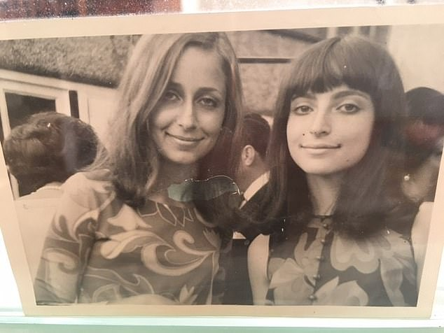 Susan Graff (left) said that a boy in Italy told Linda that she had beautiful eyes when she was 10 and Susan as 13, adding: 'It was then that I realised she was beautiful and that men would always be attracted to her' (the sisters are pictured as teenagers, Susan is 19 and Linda 16)