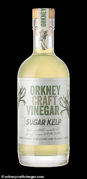 Orkney Craft Vinegar, a sugar kelp seaweed vinegar (£8.50, 250 ml, orkneycraftvinegar.com)