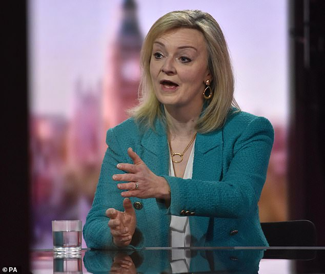 Liz Truss said wine from Australia would be cheaper to buy in the UK if a trade deal is reached