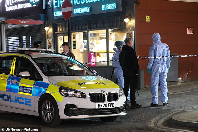 Four teenage boys aged between 16 and 17 have tonight been arrested on suspicion of attempted murder