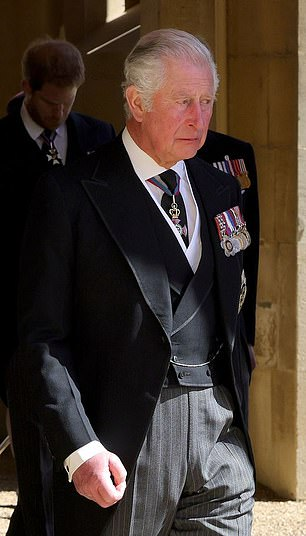 Royal biographer Angela Levin said the Prince of Wales (pictured) is set to 'cut the monarchy down' to save money