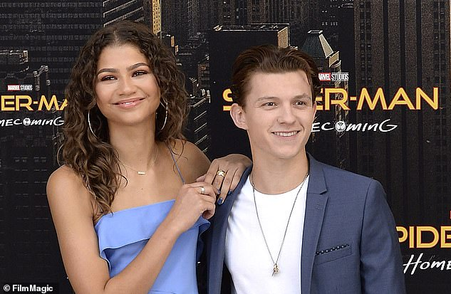 Real life:Actress Zendaya plays Michelle, known as MJ, in Spiderman: Homecoming and Spiderman: Far From Home. Her co-star Tom Holland is 5ft 8in, so two full inches shorter than her