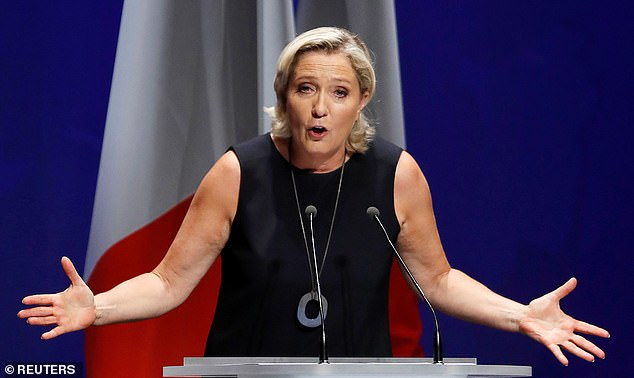 Marine Le Pen, the leader of the notoriously anti-immigration and anti-Muslim Rassemblement National (National Rally), has welcomed the veterans' support since the letter was published
