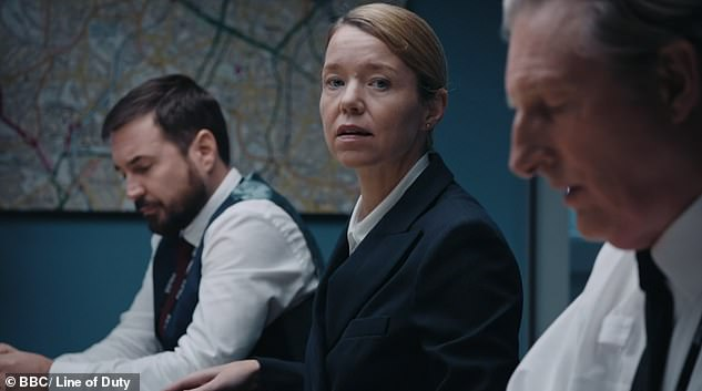 Trying to hide something?The officer, played by Anna Maxwell Martin, tried to shut down Ted Hastings' questions during a very intense interview of Jo Davidson
