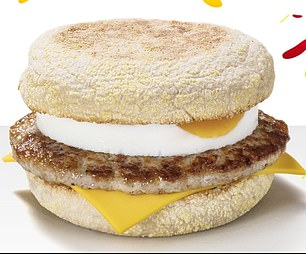 The fast food giant will sell their breakfast favourite until 11am with a freshly cracked free-range Egg and Cheese Single McMuffin for less than a £1 in stores across the UK.