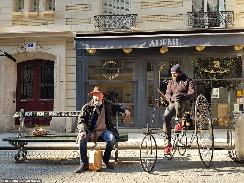 The finished cycle has already been transported to France in an electric MAXUS eDELIVER 9 van, where the replica followed Trouve's original first test-drive route in Paris. It then returned to the UK where Ray had a chance to try it out