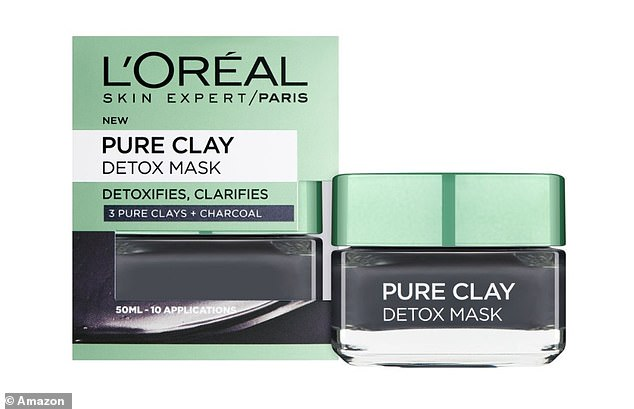 L'Oréal Parisrecommend using their bestselling L'Oréal Paris Pure Clay Detox Mask (now £3.95) twice weekly along with the cleanser for a deeper clean