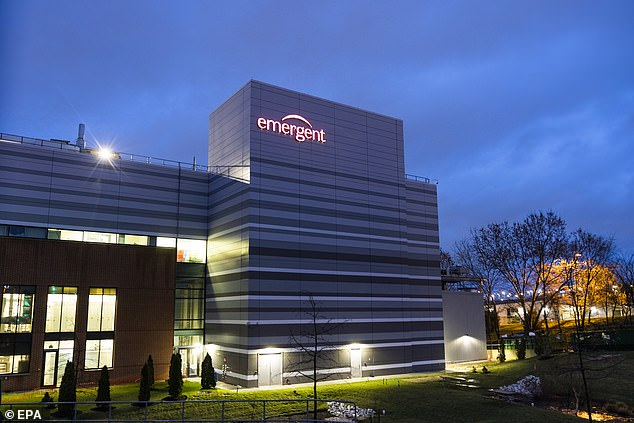 Emergent, which is a government contractor, is the company that owns and runs the Baltimore plant that was making Johnson & Johnson's COVID-19 vaccine