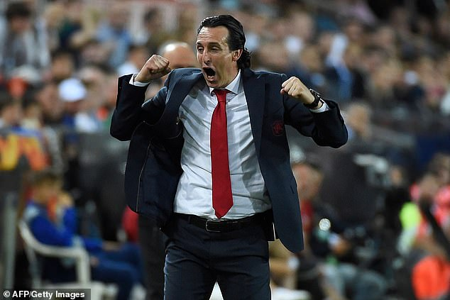 The 49-year-old reached the Europa League final with Arsenal in his one full season in charge