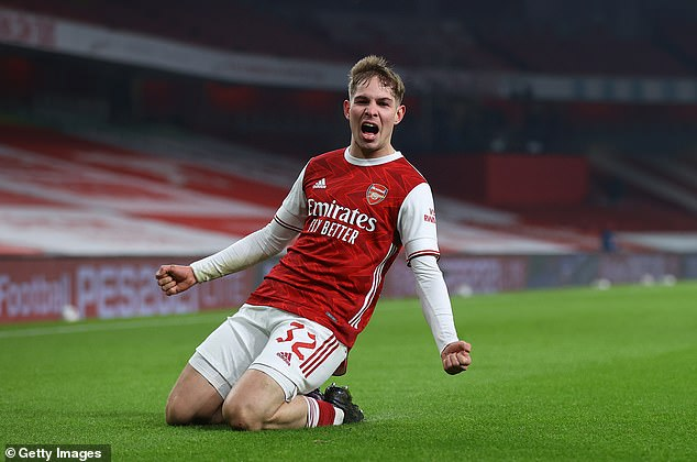 Arsenal are reportedly looking to tie down Emile Smith Rowe to a new long-term contract