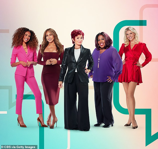 Former:Her leave of absence comes just after for Talk co-host Sharon Osbourne revealed that she received support from Carrie Ann and Amanda Kloots about her missing cat Momo