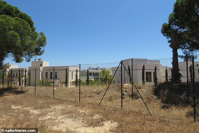 Creditors had submitted an appeal to block the sale to SRESPX but it was refused by a judge in Portuguese court. Pictured: The deserted development in 2019