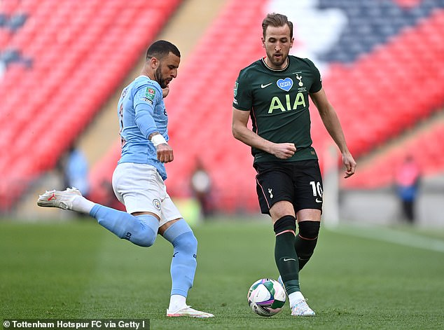 Kane has still not won a trophy with Tottenham despite scoring over 200 goals for the club