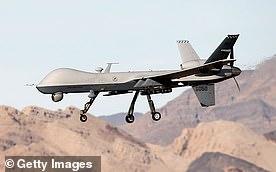 MQ-9 Reaper drone is seen in a file photo