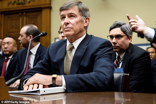 The memo was addressed to then-acting Director of National Intelligence Joseph Maguire (above) last January