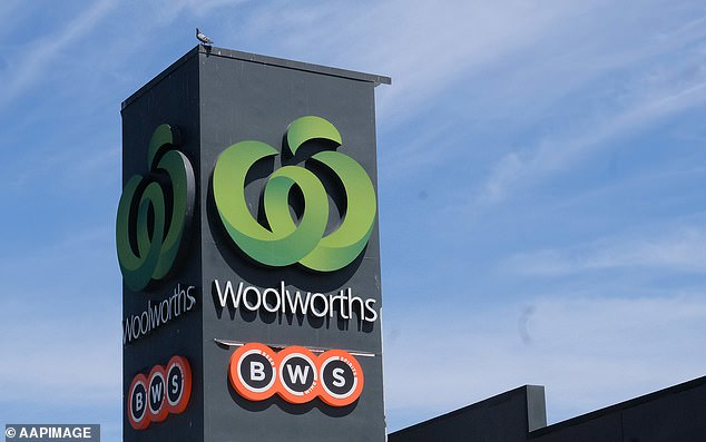 The Woolworths manager told the casual to call the store as it was her 'day off' (pictured: stock image of Woolworths store)