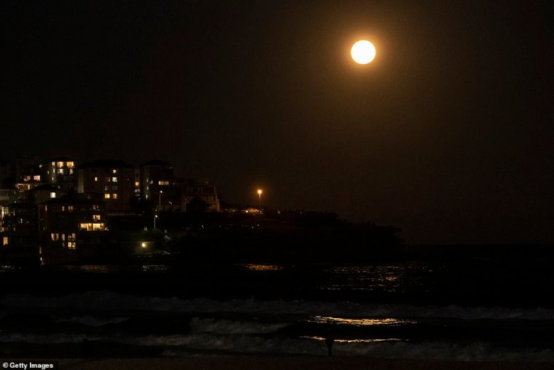 A full moon is called a supermoon when it is at it's closest point to earth, making it look much larger and brighter