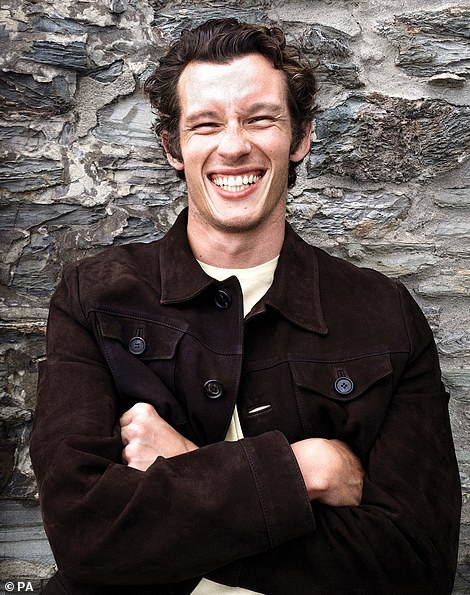 Exciting:Callum Turner, who appeared in BBC's adaptation of War and Peace, stars as Major John Egan