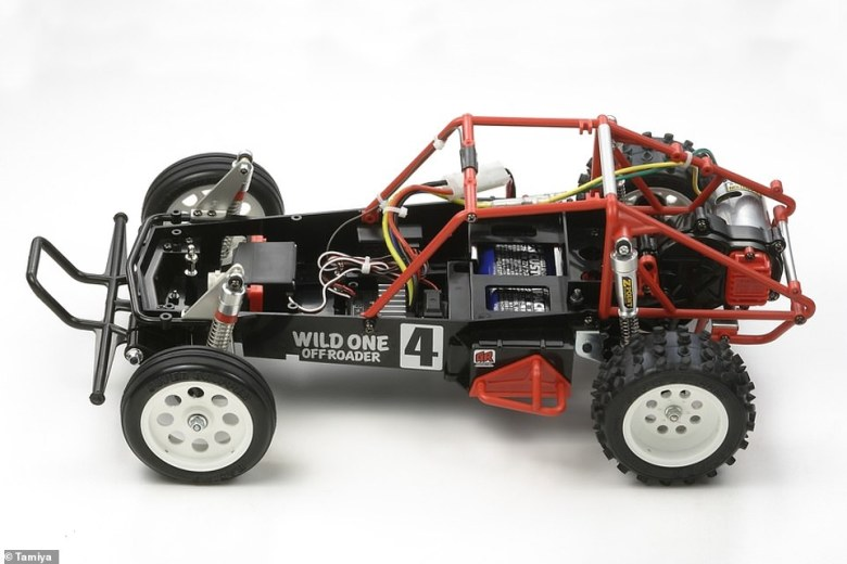 The life-scale model of this Tamiya radio controlled car will have the option of using up to four modular PowerPacks at one time to increase the performance and range. These cost an extra £1,000 each, meaning paying out another £3,000 for the most potent set-up