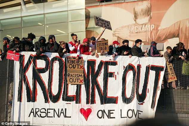 American owner Kroenke has no intention of selling, despite unrest from supporters