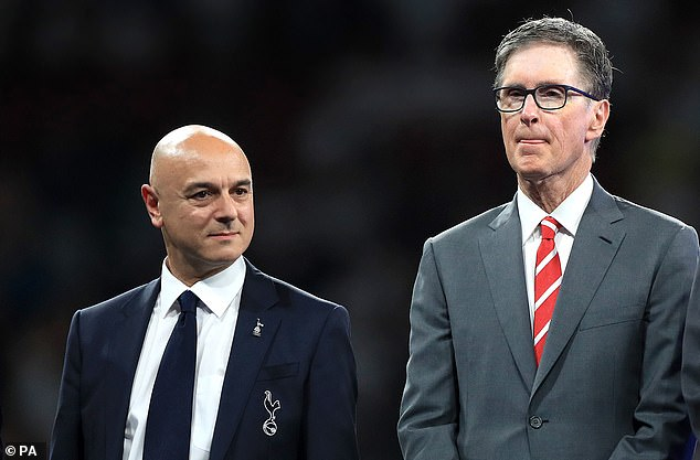 Tottenham's Daniel Levy (left) and Liverpool's John W Henry (right) were two owners involved