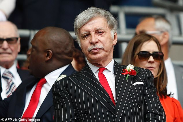 Current Arsenal owner Stan Kroenke has reaffirmed his stance on not selling the football club