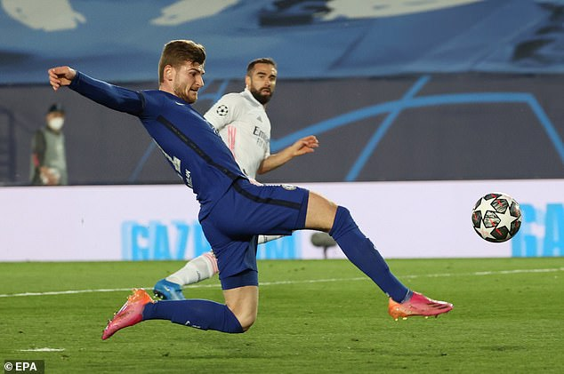 The Blues missed several chances in the opening leg, with Timo Werner missing the best one