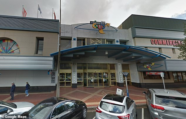 It was revealed that the driver had drunk three glasses of wine at the Commercial Club, Albury (pictured) before arriving at the McDonald's