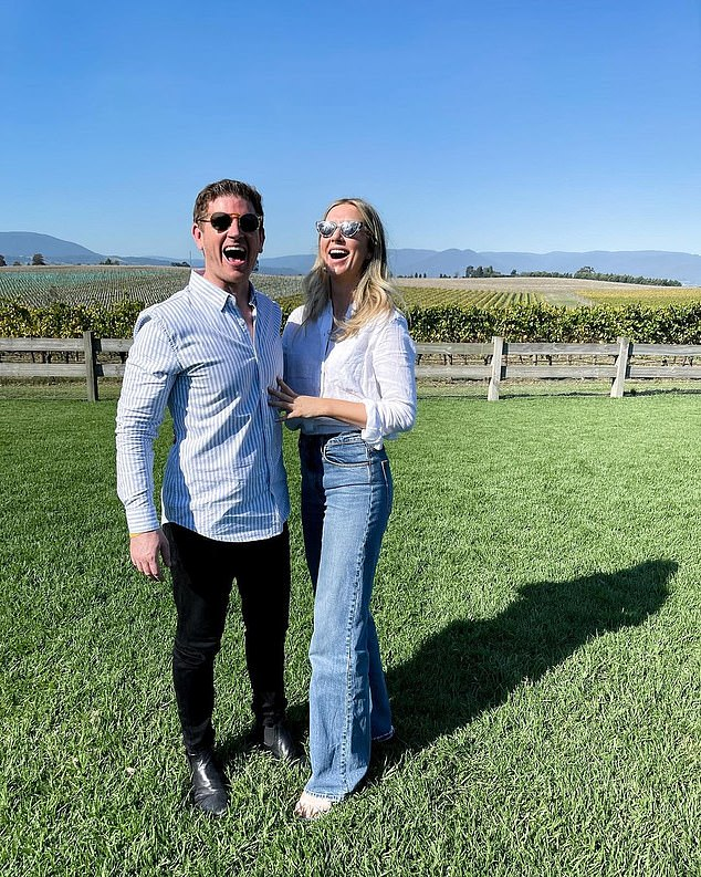 Don't you know who I am? Sam 'Sam Mac' McMillan has revealed he sent his new girlfriend Rebecca James his television showreel so she would know who he is