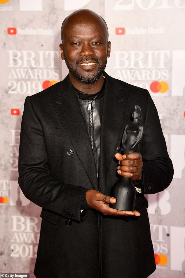 2019:Sir David Adjaye designed the Brit Award for the 2019 ceremony