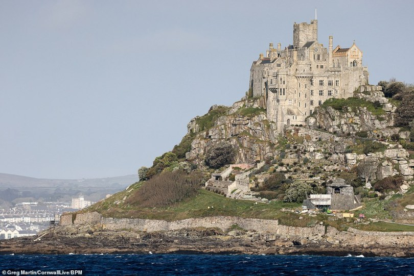 Stunning! St Michael's Mount is most certainly a perfect location for the fantasy show with its castle built into a rock face