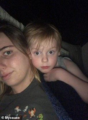 Pictured: Six-year-old Deklan Babington-Macdonald