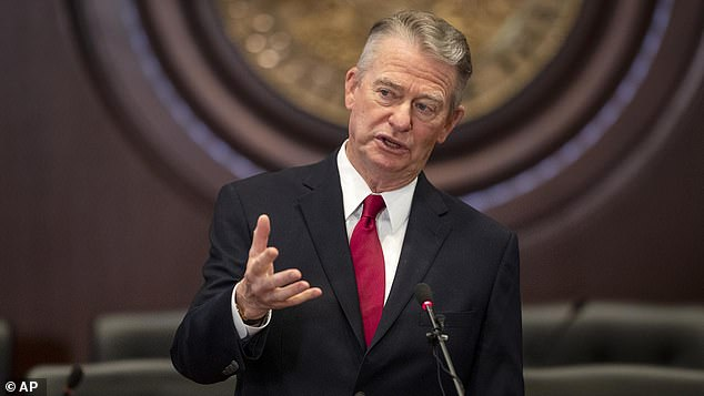 Republican Governor Brad Little on Tuesday signed into law the legislation that would outlaw nearly all abortions in the conservative state by banning them once a fetal heartbeat can be detected