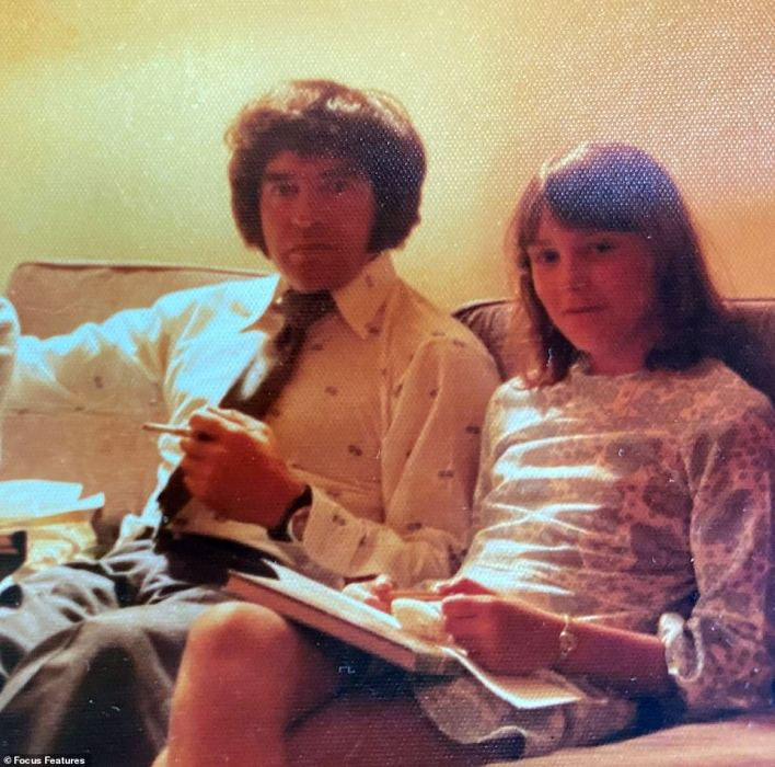 Kim Chown, who lives in County Durham, has opened up about the horrific abuse she faced a the hands of her scientist father Francis Beaumont throughout her young teenage years. Kim is pictured at 15 withBeaumont in Africa