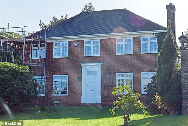Home: Prior to that, Kerry lived in a three-story six bedroom house which was costing her £3000-per-month