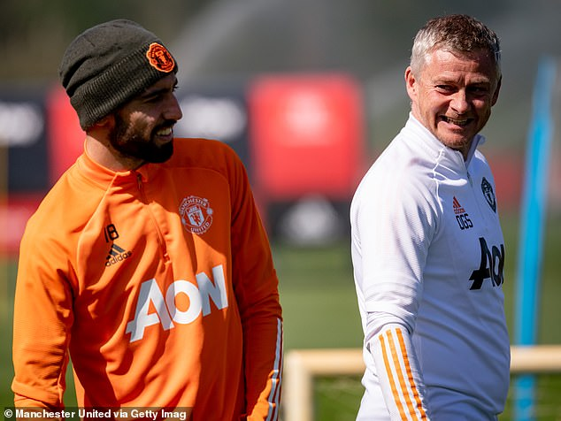 Solskjaer believes it would be a big boost to his players if they were to win the Europa League