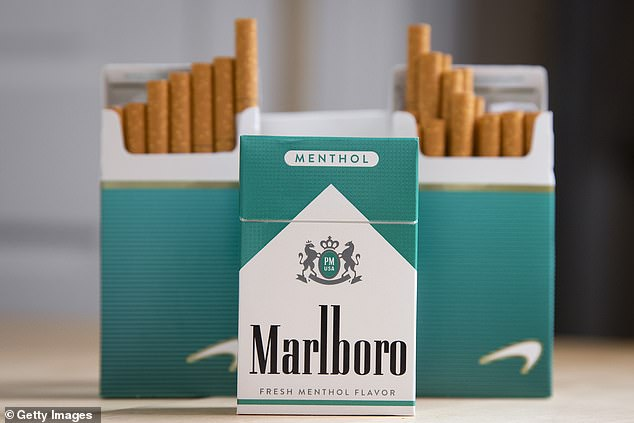 The Food and Drug Administration says that 19.5 million people smoke brands of menthol cigarettes like Marbloro Menthols