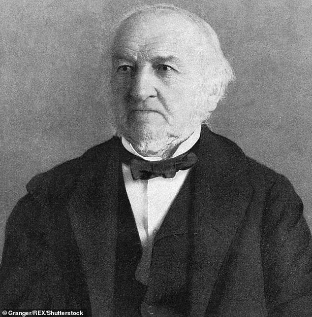 Gladstone (pictured) - the British prime minister between 1809 and 1898 - never owned slaves himself, but his family had links to the trade