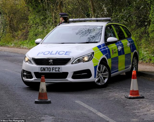 Kent Police today launched a murder investigation in the wake of the unexplained death, which is understood to have taken place yesterday afternoon as the married mother-of-two walked her dog