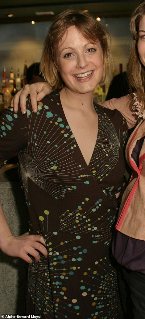 Alice Procope, 42, who was known as Alice Horton while working as a diary reporter, pictured at the Ham Polo Club Pre-Season Party held at the Pengelley's Bar in Sloane Street, Knightsbridge, in 2005