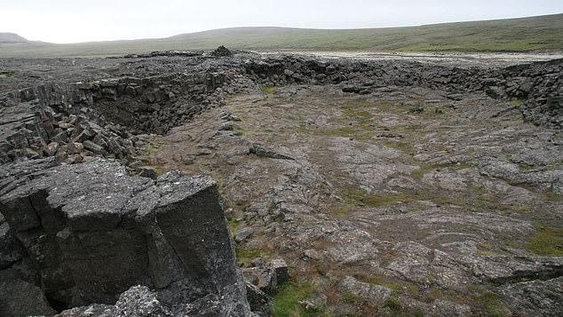 El descubrimiento se encuentra en una cueva cerca de un volcán que entró en erupción hace casi 1.100 años en un momento en que los vikingos habían colonizado Islandia recientemente.