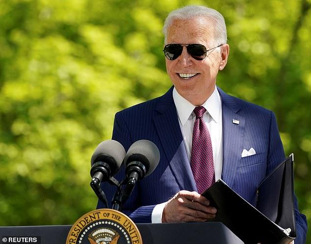 Gran gasto: para marcar sus primeros 100 días en el cargo, el presidente de la Casa Blanca, Joe Biden (en la foto), ha presentado su tercer trillón más paquete fiscal, el Plan Familias Estadounidenses.